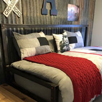 Train Robber Ranch Accommodatio bed couch